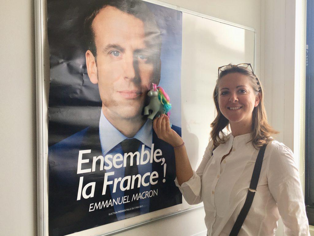 charline vanhoenacker france inter reve de gosse emmanuel macron